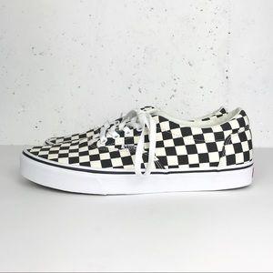 Vans Authentic Pro Checkerboard Black & White